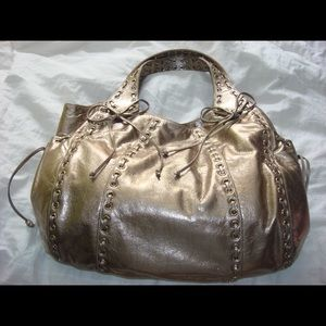 Kooba Marcelle Bronze Metallic Hobo Bag